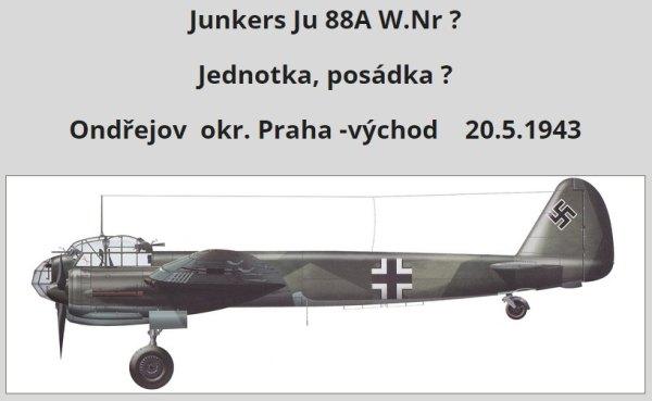 Havárie letounu Junkers Ju 88A